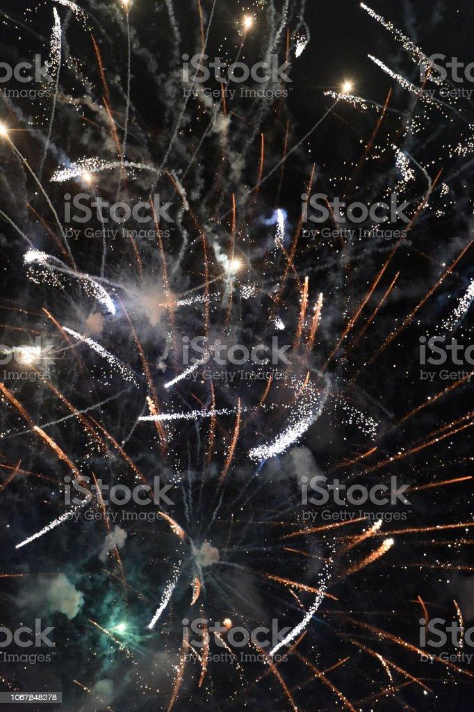Fireworks Sample stock photo