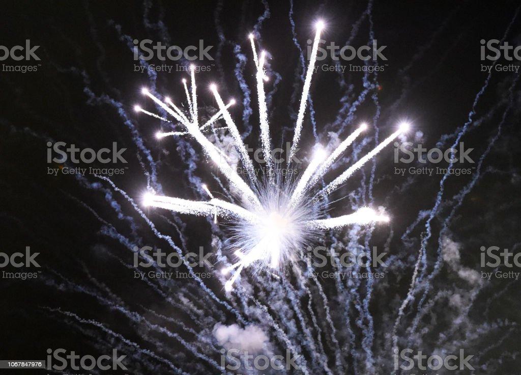Fireworks Sending stock photo
