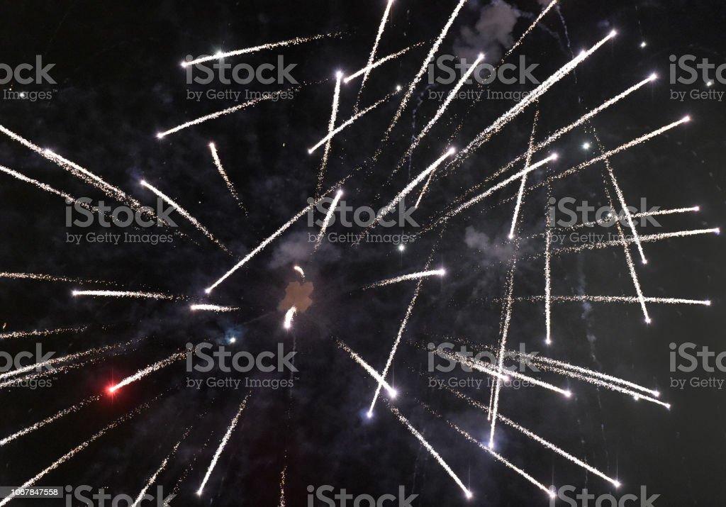 Fireworks Speed stock photo