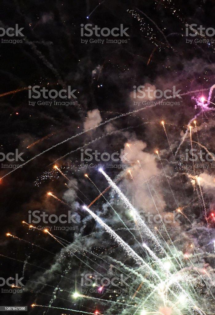 Fireworks Take stock photo