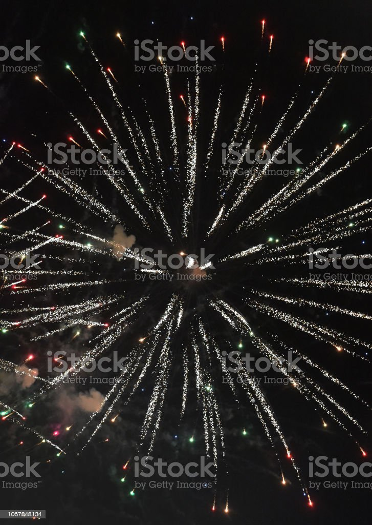 Fireworks Trance stock photo