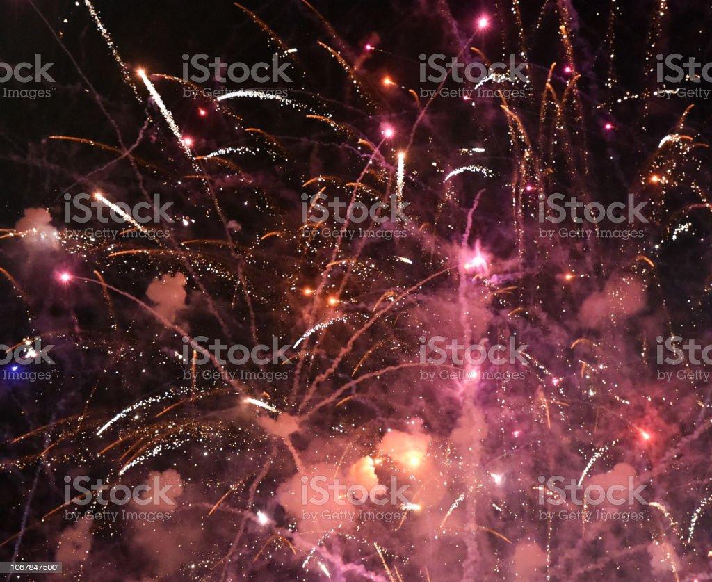 Fireworks Travel stock photo
