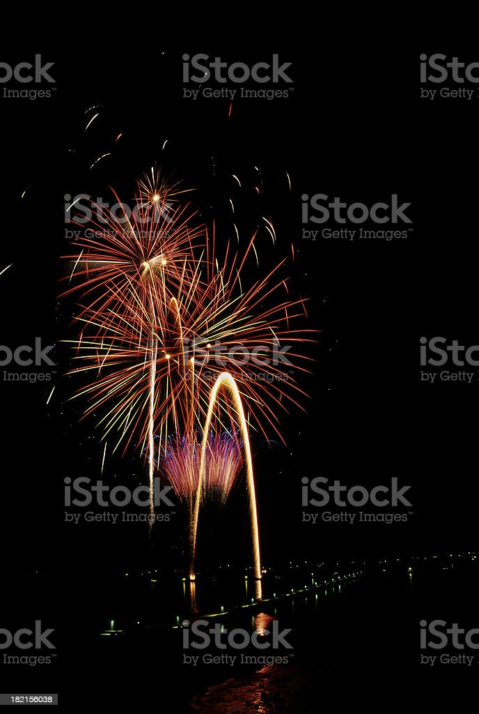 fireworks2 royalty-free stock photo