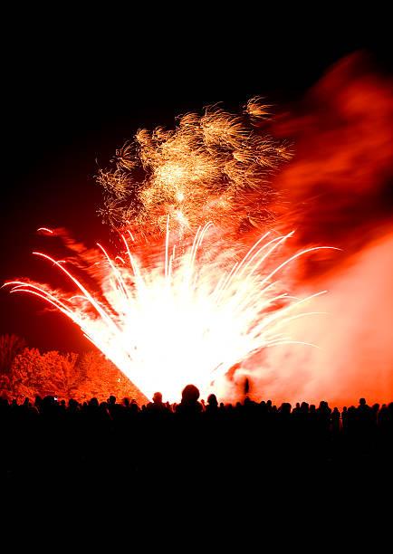 fireworks6 stock photo