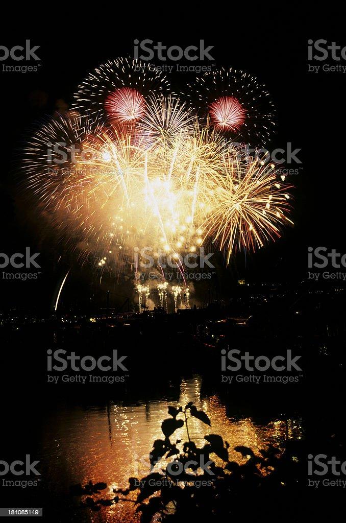 fireworks6 royalty-free stock photo