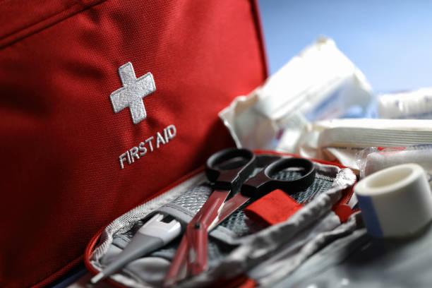 응급 처치 물품 - 응급 처치 뉴스 사진 이미지
