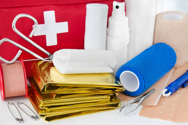 구급 가방 제품 - 응급 처치 뉴스 사진 이미지