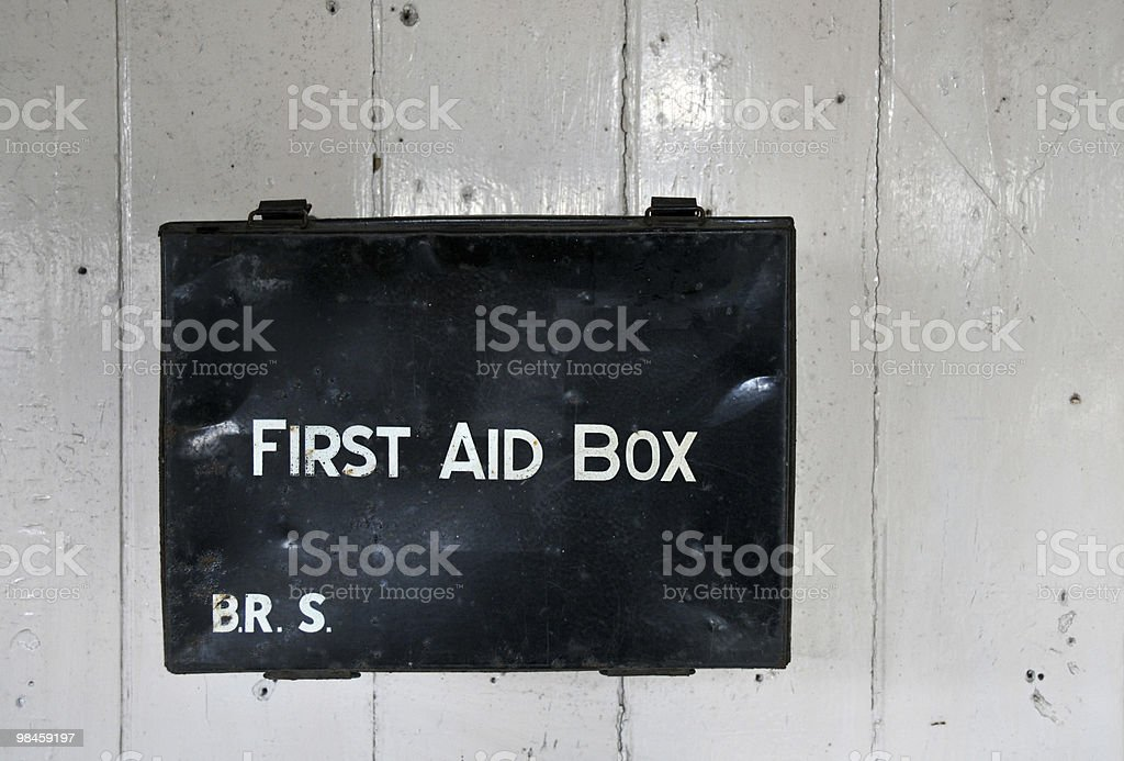 First Aid Box royalty-free stock photo