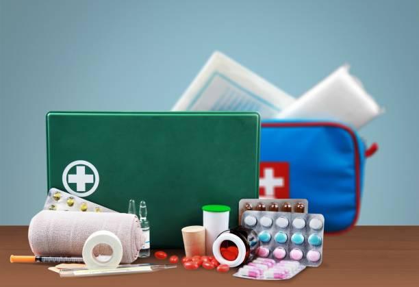 Erste-Hilfe-Kit. – Foto