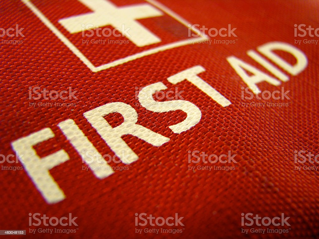 First Aid Kit Medical Image Of A First Aid Kit Accidents and Disasters Stock Photo