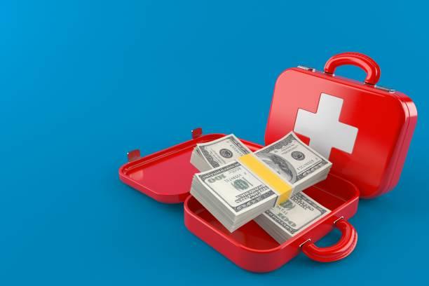 Erste-Hilfe-Set mit Geld – Foto