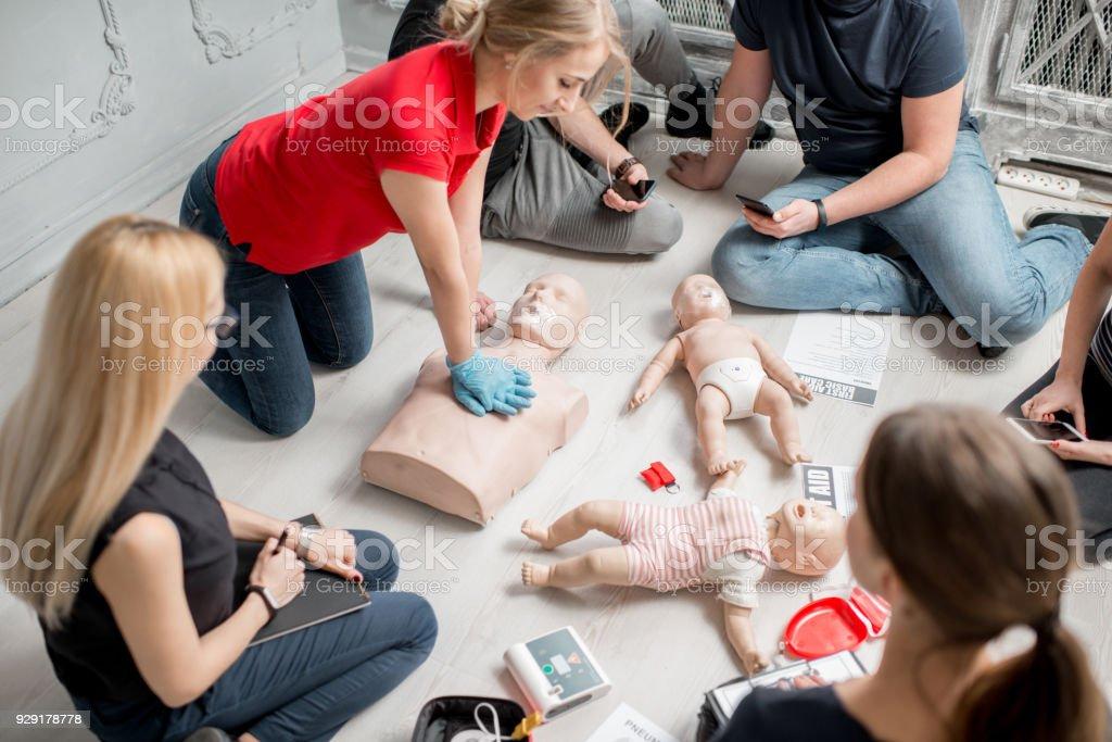 Erste-Hilfe-Schulung – Foto