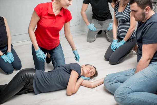 first aid training - position stock pictures, royalty-free photos & images