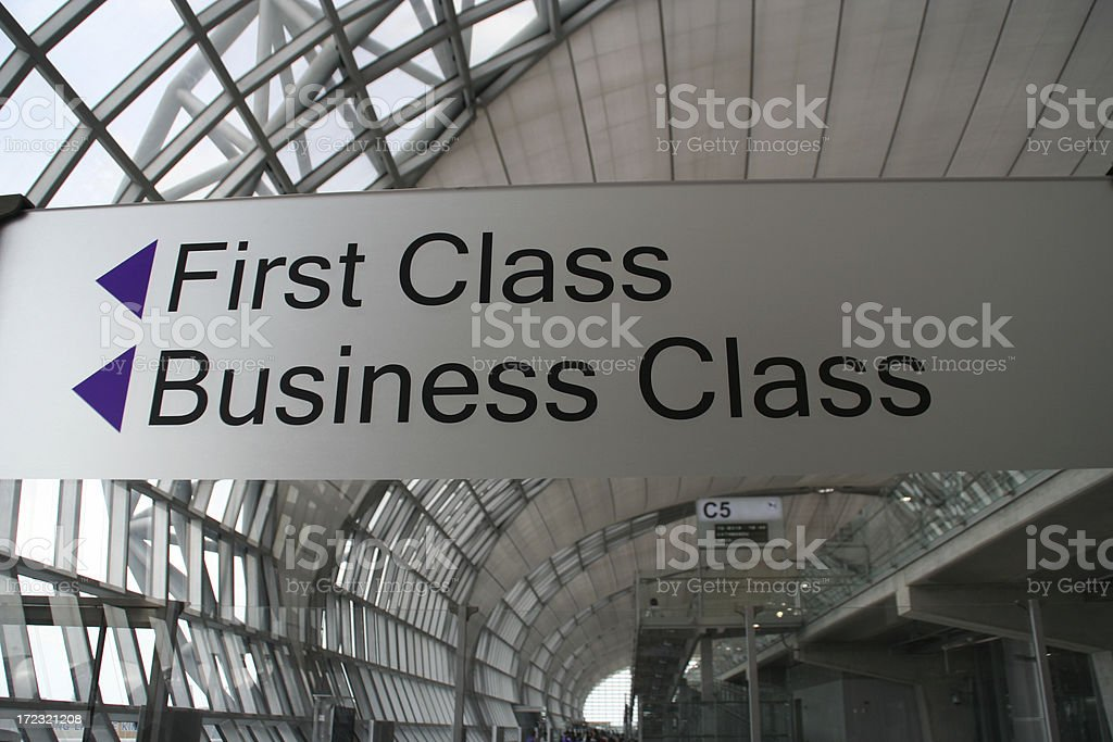 first and business stock photo