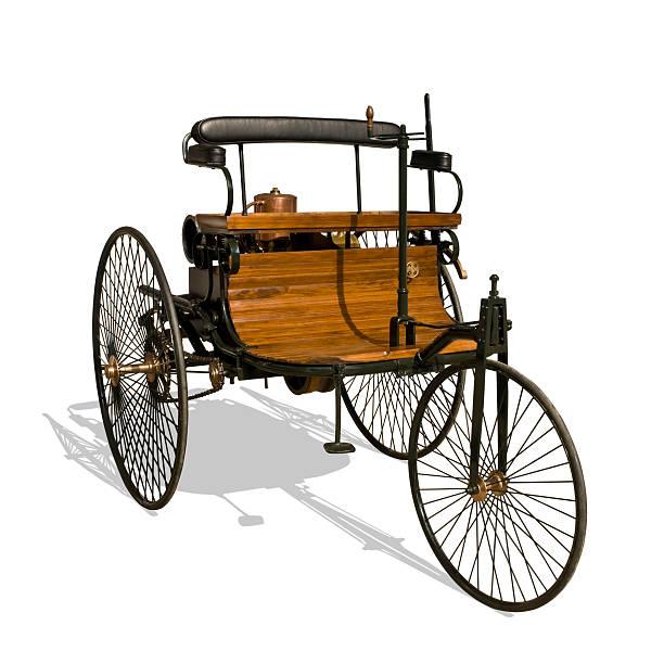 Erste Auto, Benz Patent Auto, 1885/86 – Foto