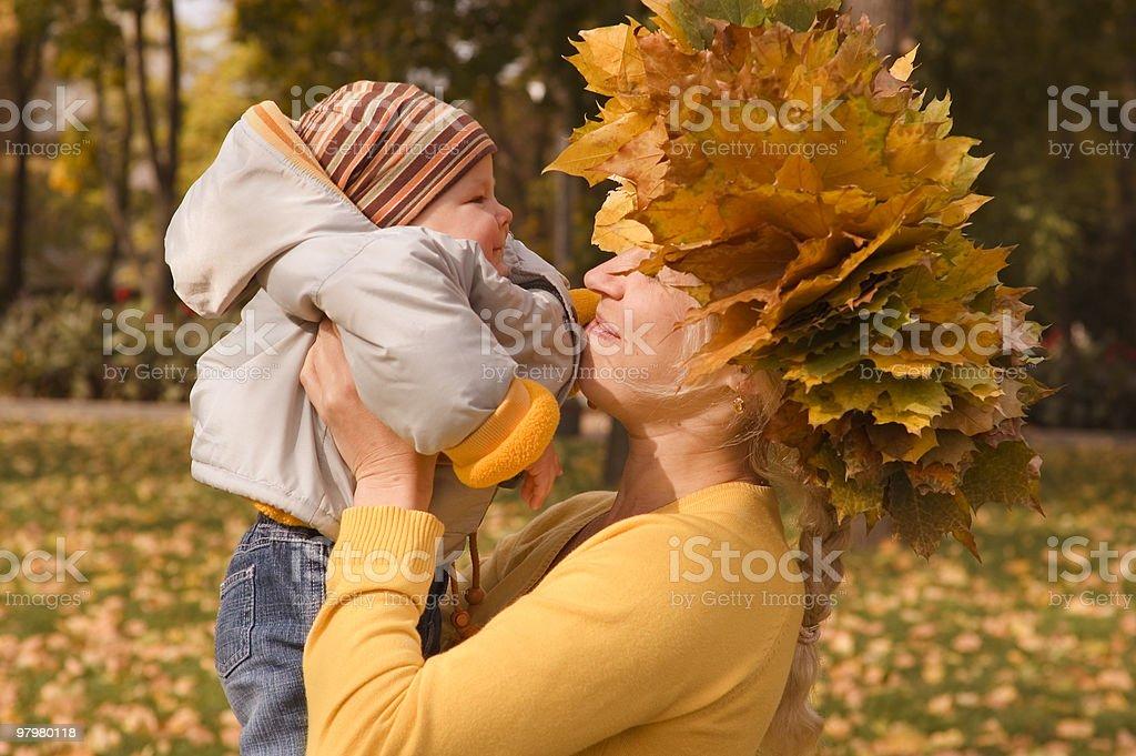 first autumn royalty-free stock photo