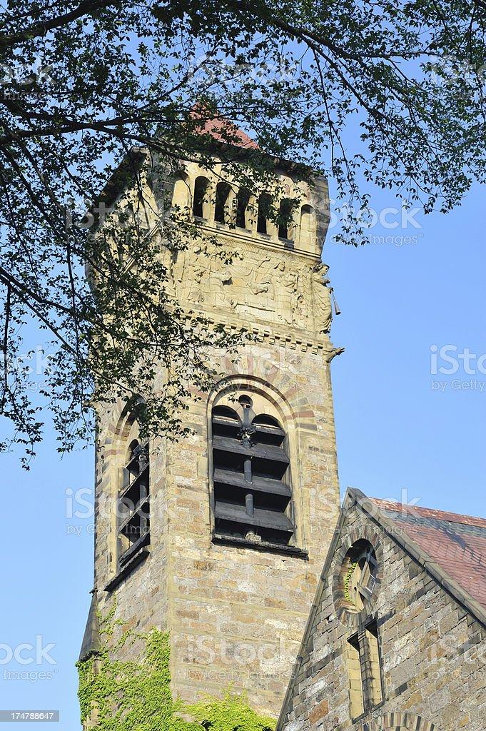 First Baptist Church in Boston royalty-free stock photo