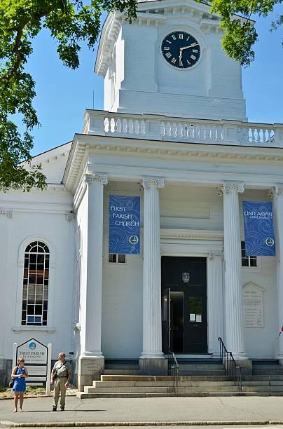 First Baptist Church, Lexington stock photo