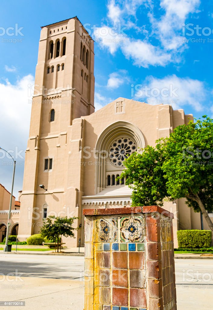 First Baptist Church Pasadena - Los Angeles, California stock photo