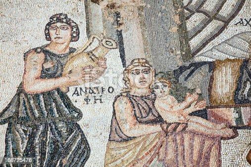 860524946 istock photo First Bath Of Archilles, Roman Mosaic, Paphos, Cyprus 166725476
