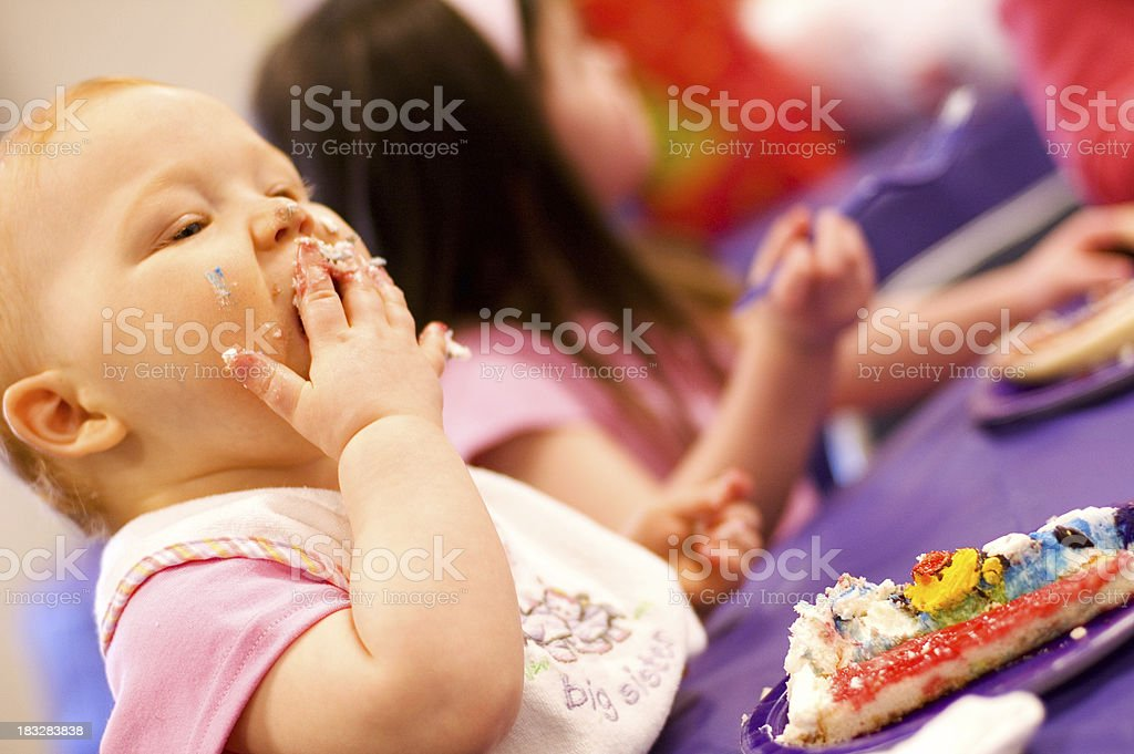 First Birthday royalty-free stock photo