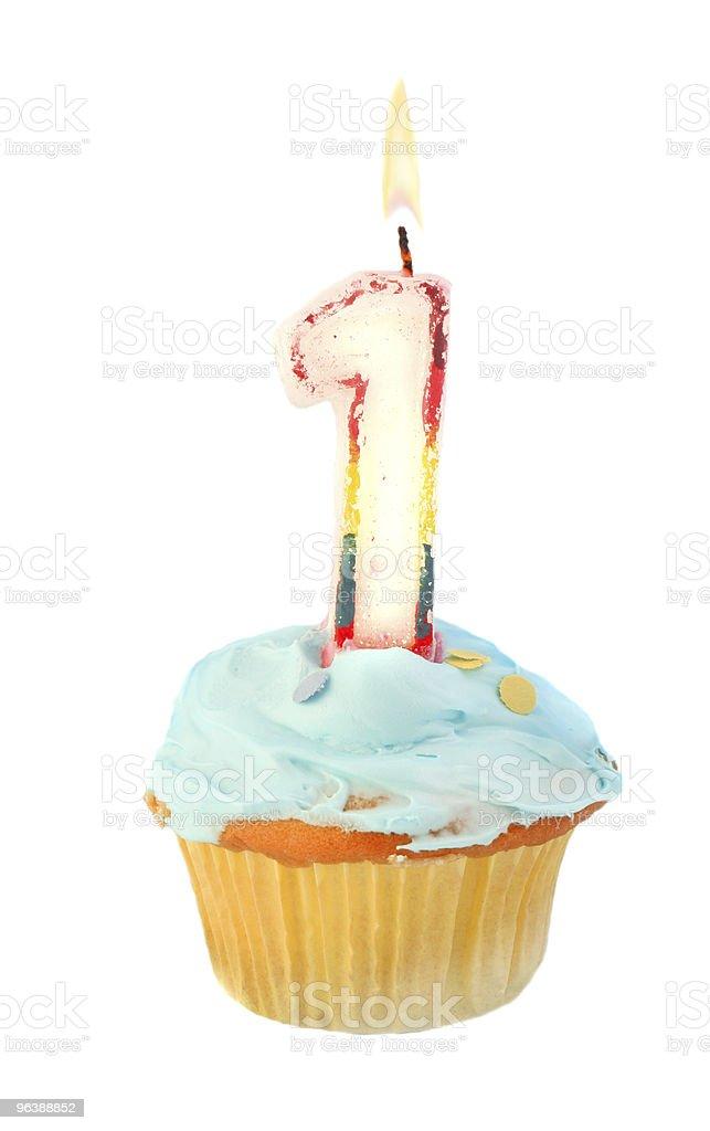 first birthday - Royalty-free Anniversary Stock Photo