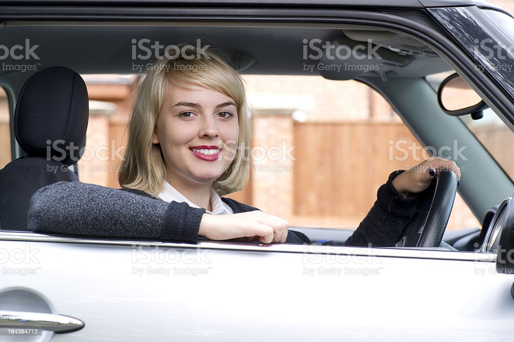 first car stock photo