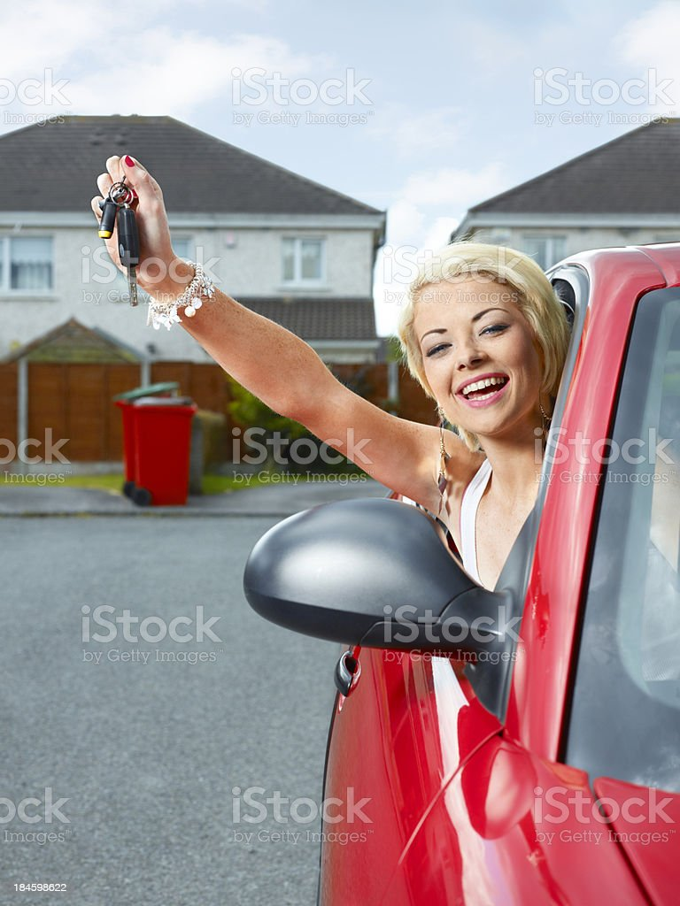 First car royalty-free stock photo
