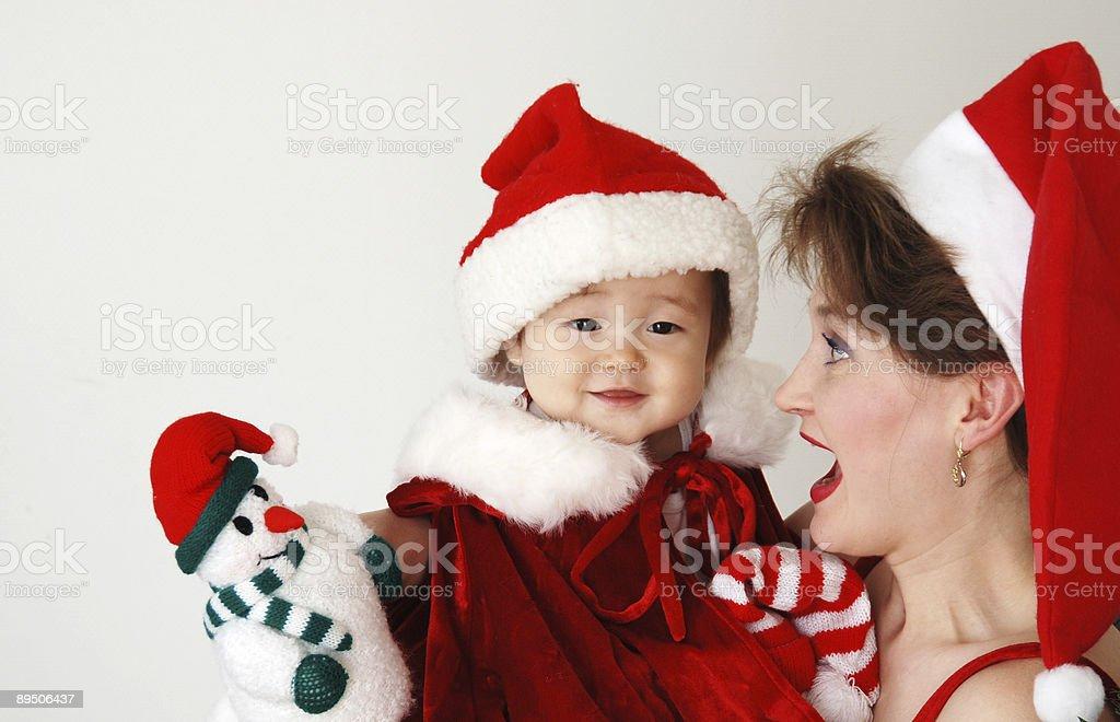 first christmas 免版稅 stock photo