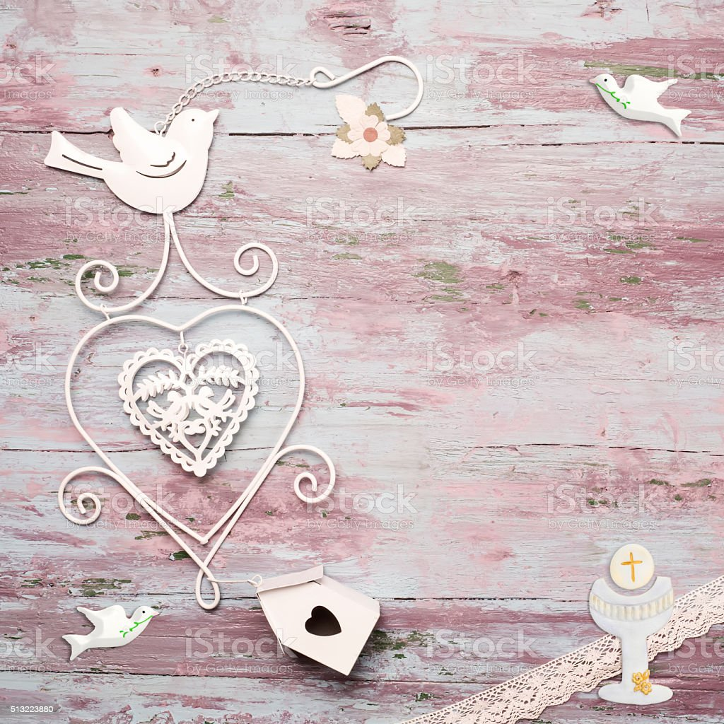 first communion vintage background stock photo amp more