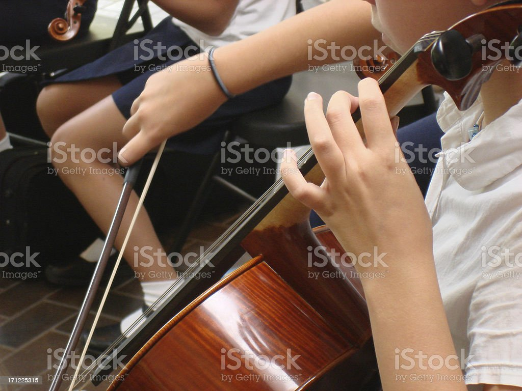 First Concert stock photo