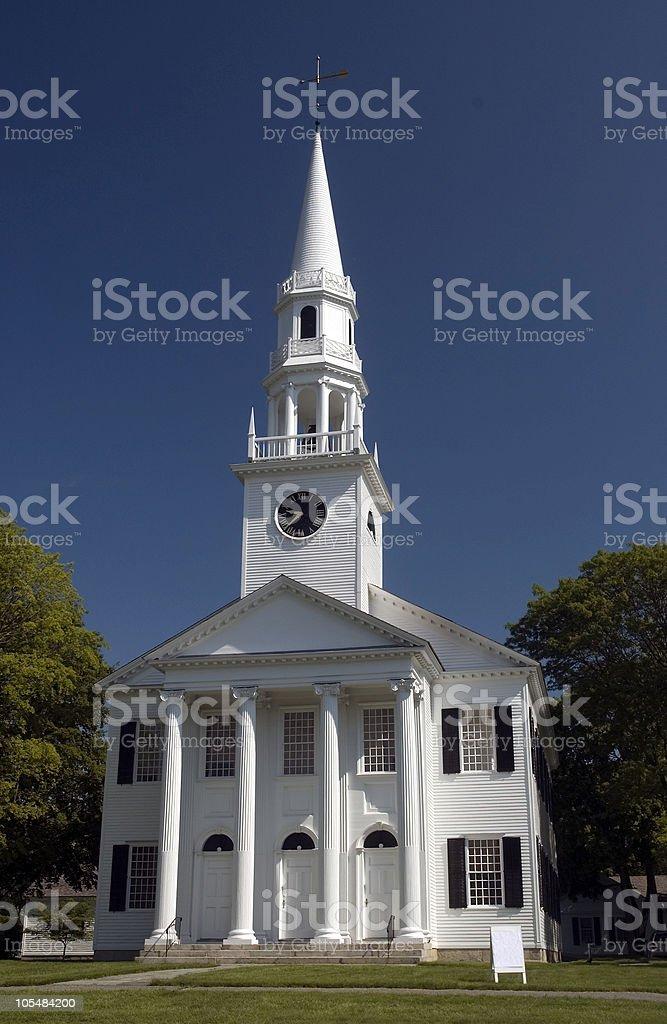 First Congregational Church stock photo
