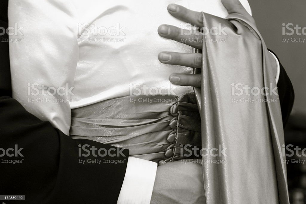 First Dance royalty-free stock photo