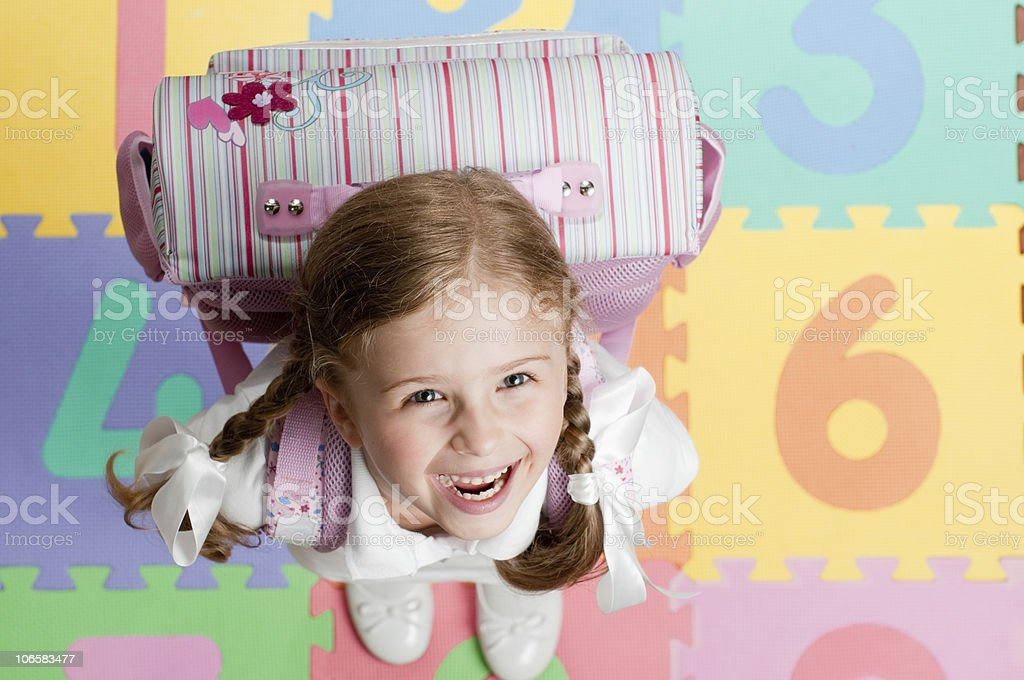 First day at shool royalty-free stock photo