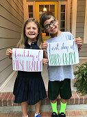 istock First Day of First and Third Grade 1266465735