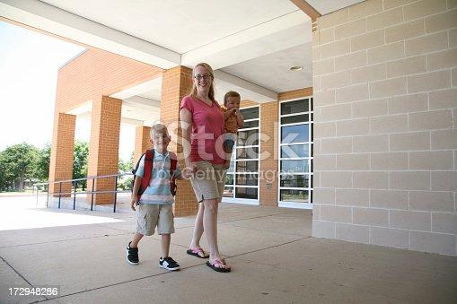 istock First Day of Kindergarten 172948286