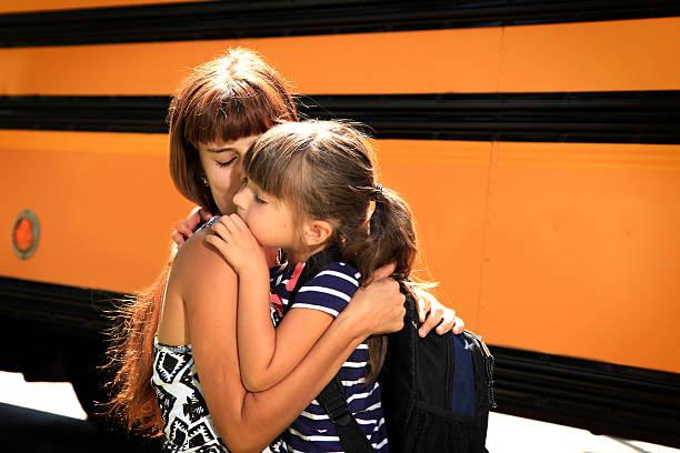 first day of school - liebeskind umhängetasche stock-fotos und bilder
