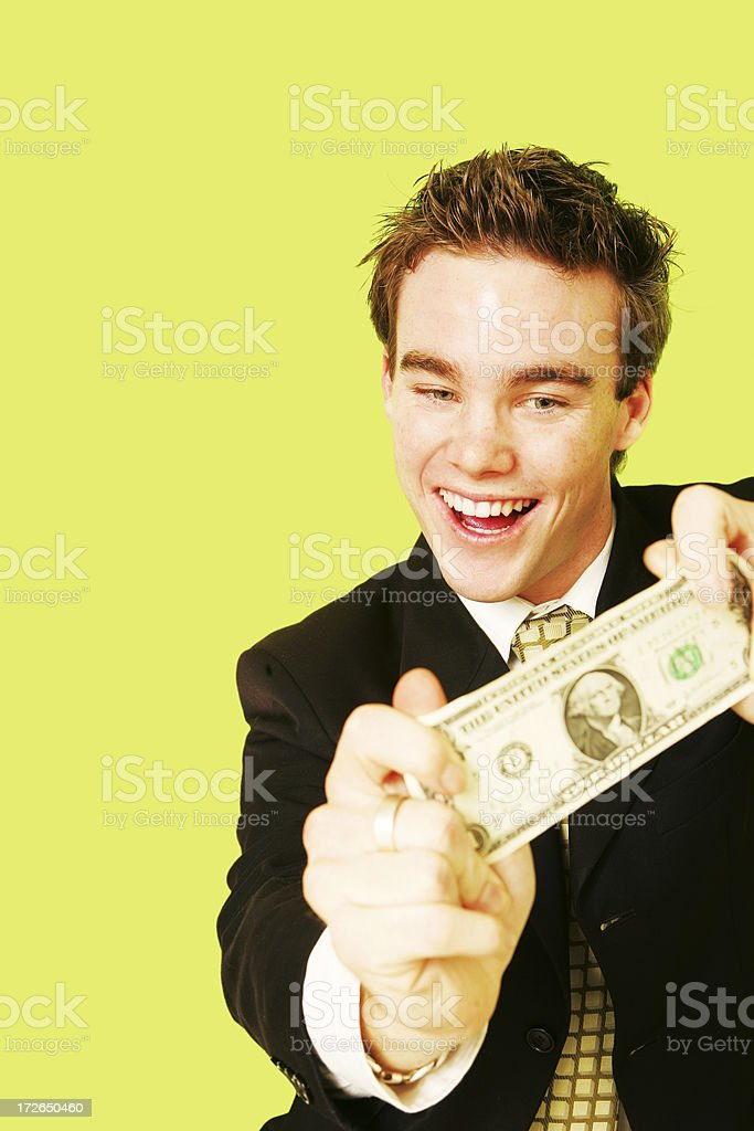 First Dollar royalty-free stock photo