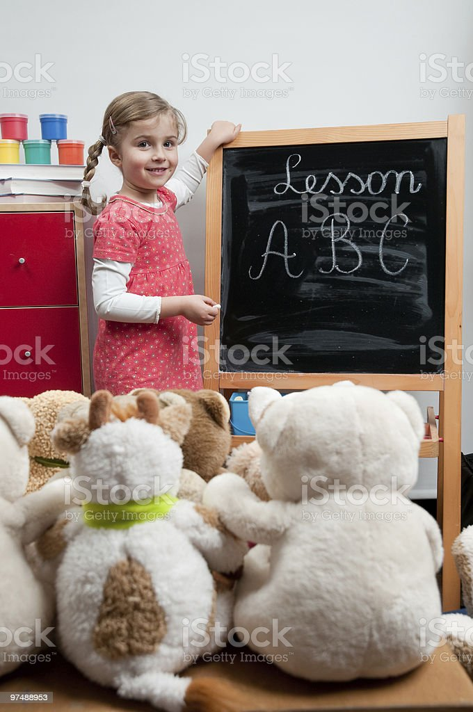 First education royalty-free stock photo