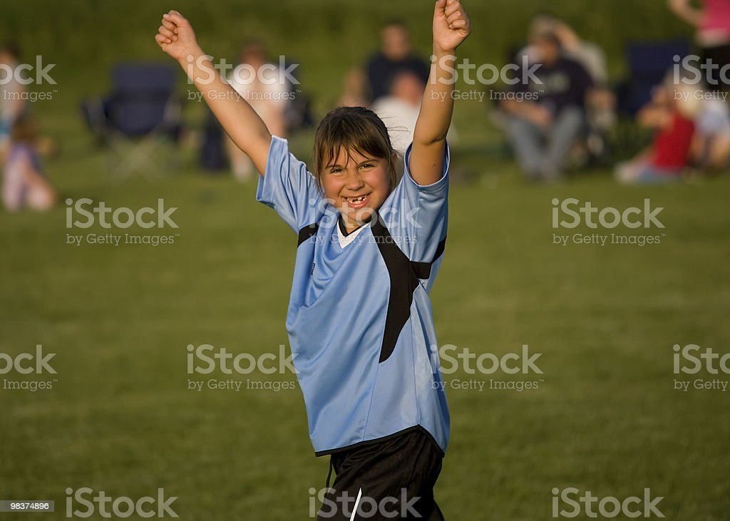 First Goal royalty-free stock photo
