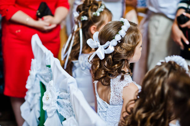 First holy communion. stock photo