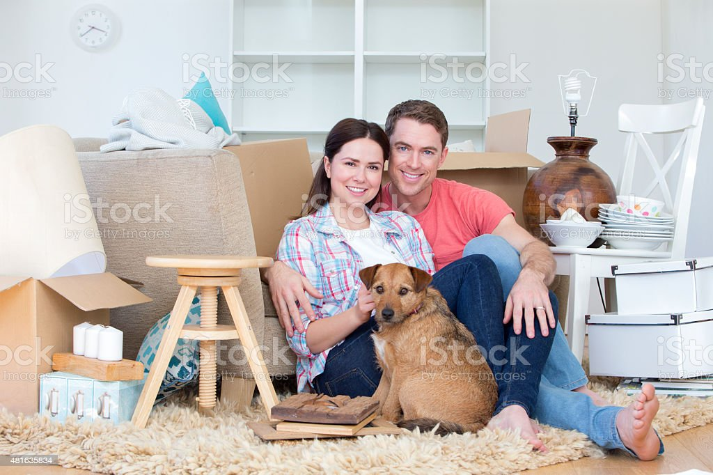 First Home stock photo