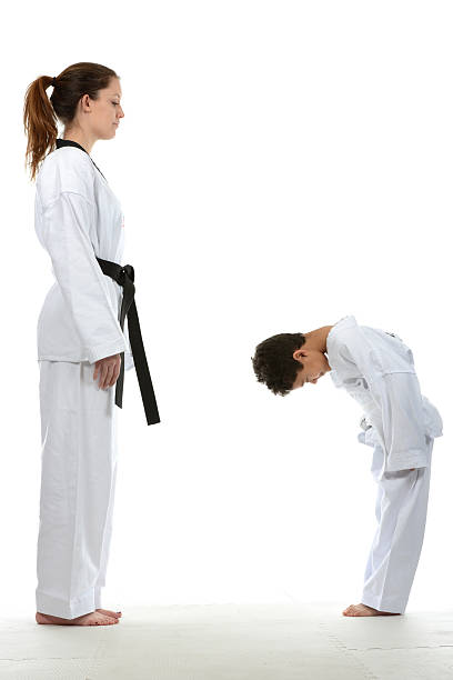 first lesson - martial arts gerville stock pictures, royalty-free photos & images