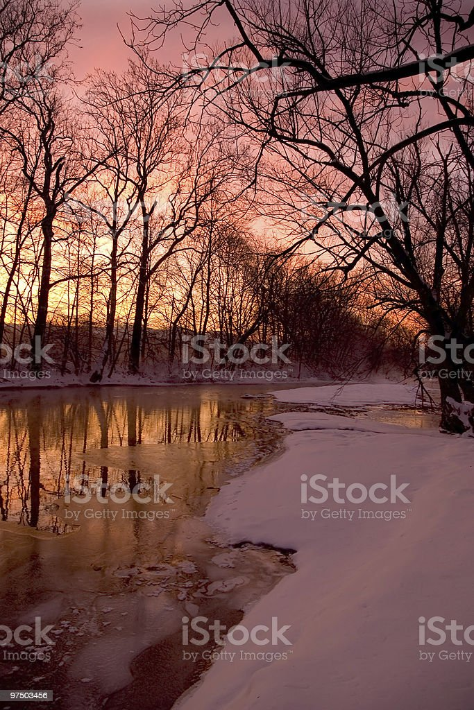 First Light royalty-free stock photo