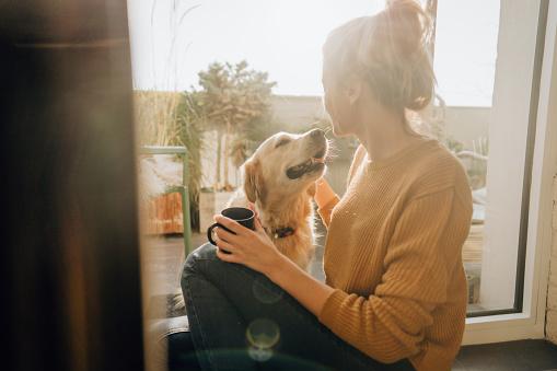 Erster Morgenkaffee Mit Einer Firma Stockfoto und mehr Bilder von Das Leben zu Hause