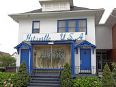 Detroit, MI, USA - July 31, 2014: The first Motown headquarters located in Detroit, Michigan. Motown is an American record company primarily associated with African-American pop, soul and R&B music.