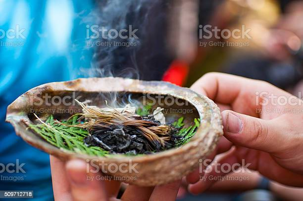 First Nation Incense Stock Photo - Download Image Now