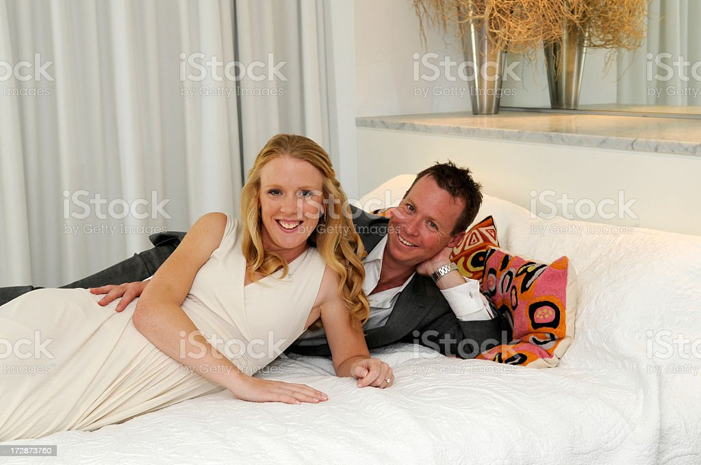 First night together royalty-free stock photo