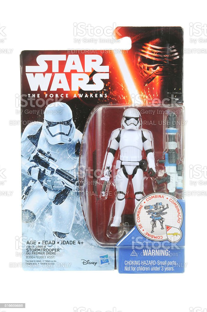 First Order Stormtrooper Action Figure Stock Photo Download Image Now Istock