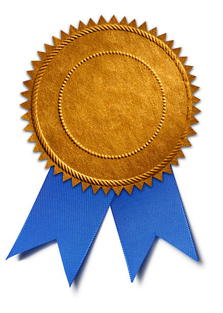 first place - award ribbon stock photos and pictures